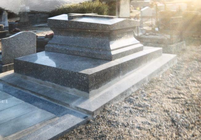 Rénovation monument funéraire 95